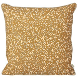 Dottery Cushion Curry 50 x 50 cm Ferm Living
