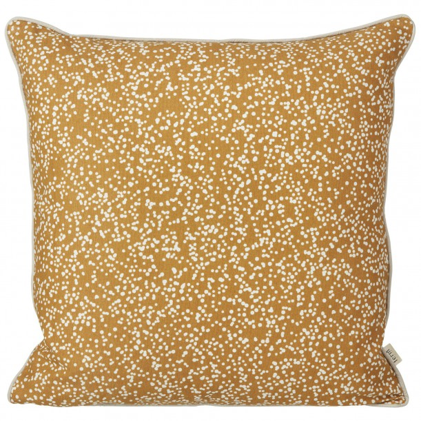 Coussin Dottery Curry 50 x 50 cm Ferm Living