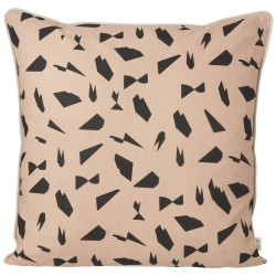 Mini Cut Cushion Rose 50 x 50 cm Ferm Living
