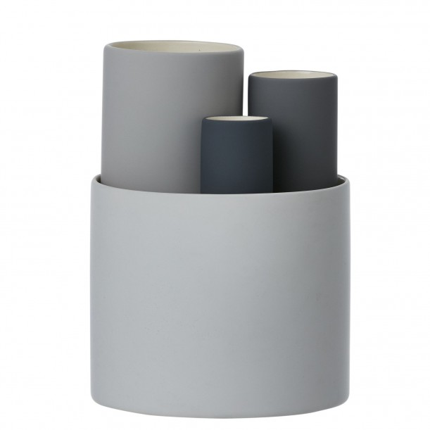 Collect Vases Grey Ferm Living