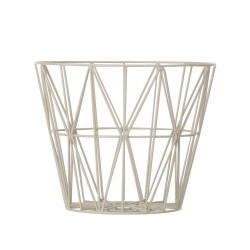 Wire Basket Grey Small Ferm Living