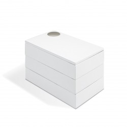 Spindle White Jewelry Box Umbra