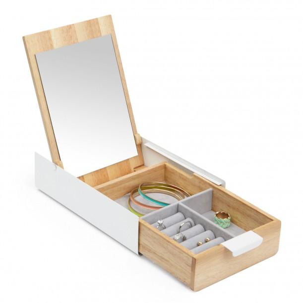 Reflexion White Jewelry Box Umbra
