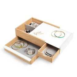 Stowit White Jewelry Box Umbra
