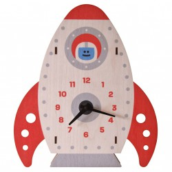 Rocket Clock by Modern Moose