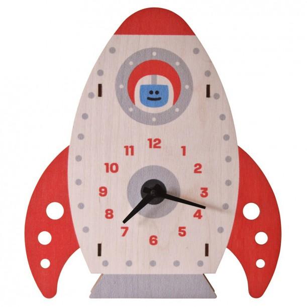 Rocket Clock by Modern Moose