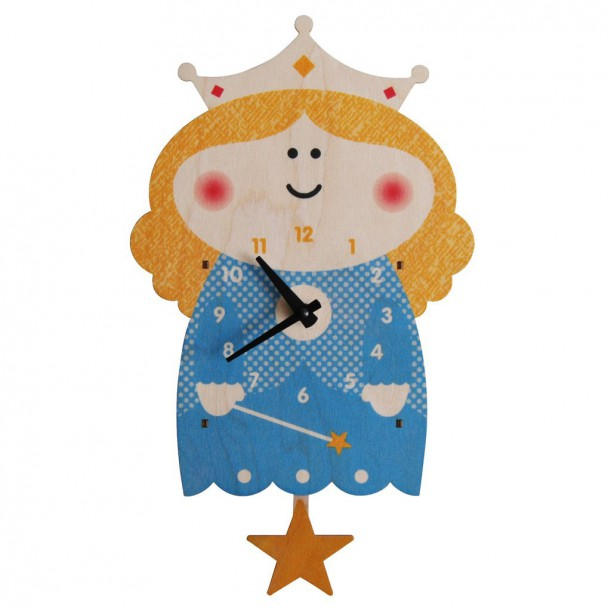 Princess Pendulum Clock by Modern Moose